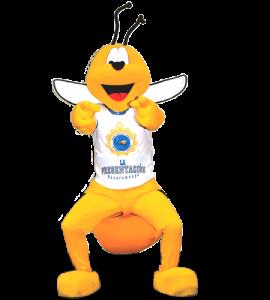 Mascota Coledio de la presentación