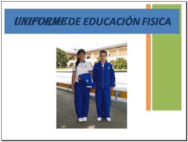 4a28b0ee Colegio de la Presentación uniforme de educación física